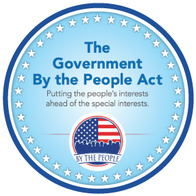 The Government By The People Act (H.R. 20) ...
